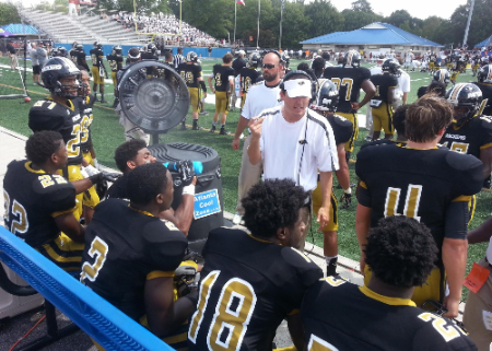 Atlanta Cool Zone high school and college  sideline air cooling